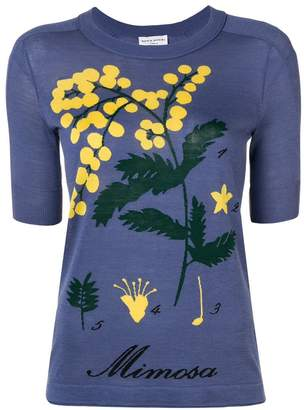 Sonia Rykiel printed floral T-shirt