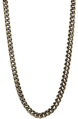 März 4mm Vintage Stainless Steel Box Chain Necklace