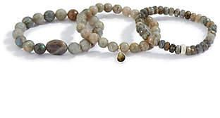 Dee Berkley Set of Three Labradorite Bracelets