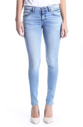 KUT from the Kloth Mia Toothpick Skinny Distressed Jeans