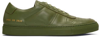 Common Projects Green BBall Low Sneakers