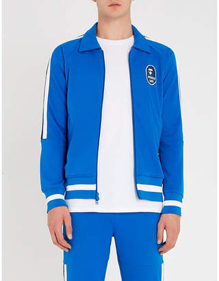 A Bathing Ape Side-stripe stretch-jersey jacket