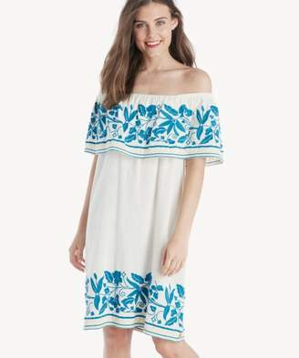 Sole Society Boho Off the Shoulder Dress