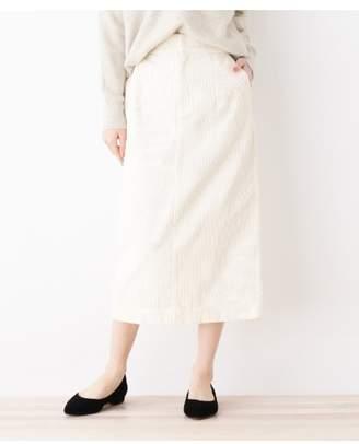 OPAQUE.CLIP (オペーク ドット クリップ) - オペーク ドット クリップ [洗える]コーデュロイタイトスカート