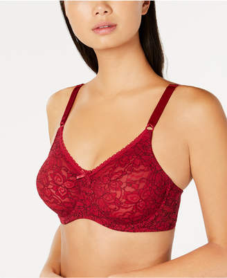 Bali Comfort Lace and Smooth Seamless Underwire Bra 3432