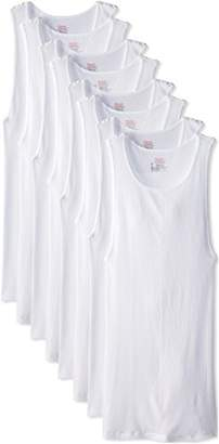 Hanes Ultimate Men's 8-Pack Big Comfort Soft A-Shirt Tank