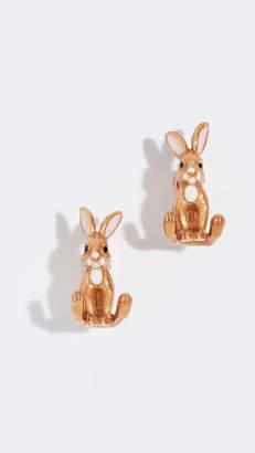 Kate Spade Desert Muse Bunny Ear Jackets Earrings