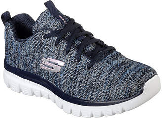 Skechers Graceful Womens Walking Shoes Lace-up