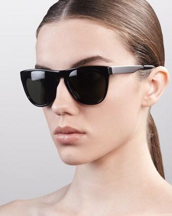 Oliver Peoples Braverman Sunglasses, Black