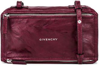 Givenchy Old Pepe Mini Pandora Bag in Aubergine | FWRD