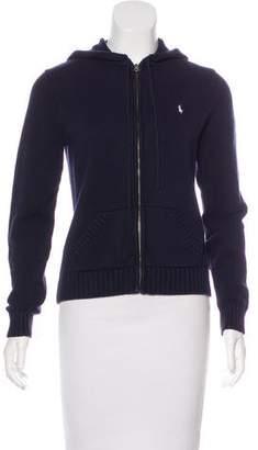 Ralph Lauren Hooded Knit Jacket