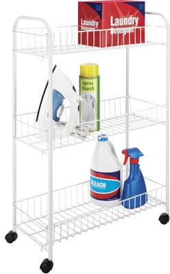 Laundry by Shelli Segal Whitmor, Inc Slim Household Utility Cart