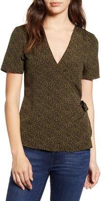 Bobeau Gwyneth Wrap Top