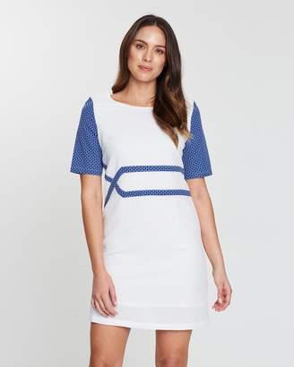 Lana Geometric Dress