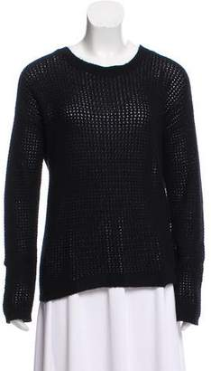 Allude Long Sleeve Cashmere Sweater