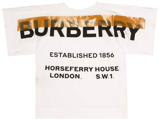Burberry Logo stretch cotton T-shirt