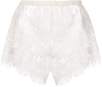 Fleur Du Mal all over lace shorts