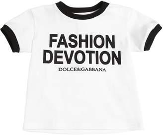 Dolce & Gabbana Cotton Jersey T-Shirt