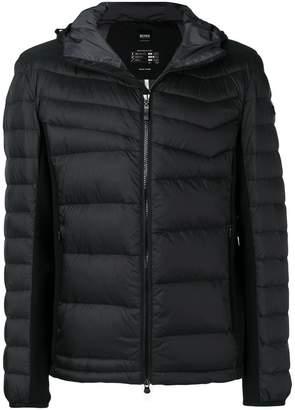 HUGO BOSS hooded padded jacket