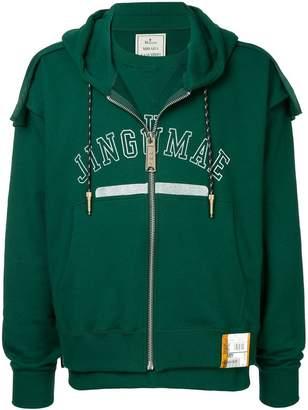 Miharayasuhiro front zipped hoodie