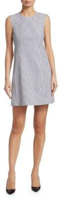 Theory Helaina Sayre Striped Shift Dress