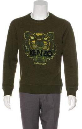 Kenzo Embroidered Long Sleeve Sweatshirt