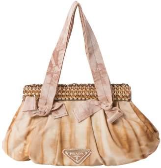Prada Anthracite Leather Clutch Bag