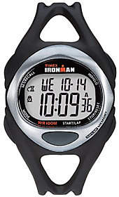 Timex Unisex Black Ironman 50-Lap Watch w/ Indiglo $57 thestylecure.com