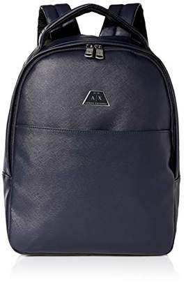 Armani Exchange A|X Men's Allover Classic Print Backpack