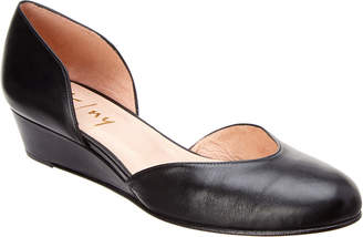 French Sole Hemingway Leather Wedge