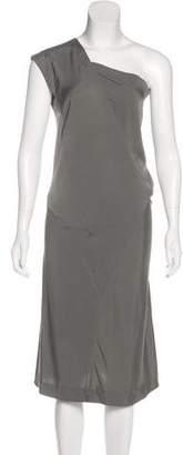 Ter Et Bantine Silk One-Shoulder Dress