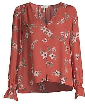 Joie Women's Bolona Silk Floral Blouse