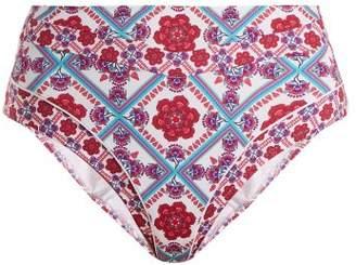 Paolita - Gobi Bikini Briefs - Womens - Pink Multi