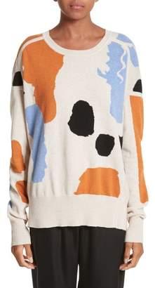 Zero Maria Cornejo Palette Cashmere & Merino Wool Sweater