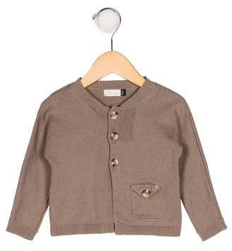 Jean Bourget Knit Button-Up Cardigan