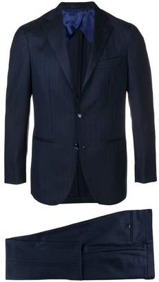 Barba pinstripe suit