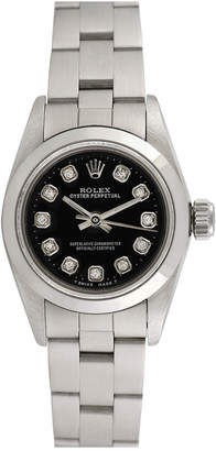 Rolex Heritage  1990S Women's Oyster Perpetual Diamond Watch