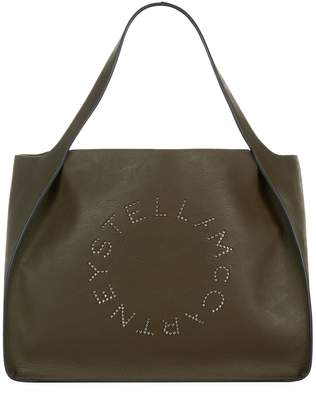 Stella McCartney Studded Logo Tote Bag