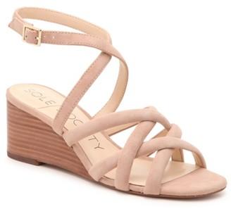 Sole Society Khalessia Wedge Sandal
