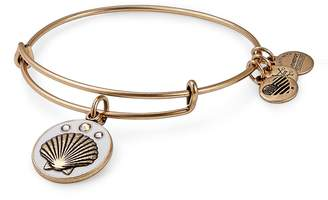Alex and Ani (アレックス アンド アニ) - Alex and Ani Seashell Color Infusion Expandable Charm Bracelet