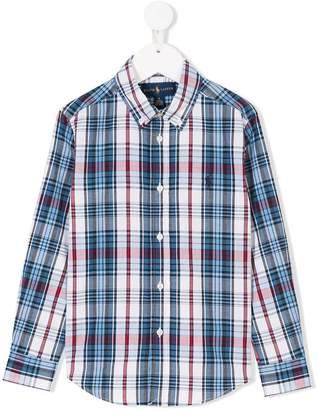 Ralph Lauren Kids checked button down shirt
