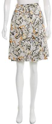 Peter Som Knee-Length Wrap Skirt