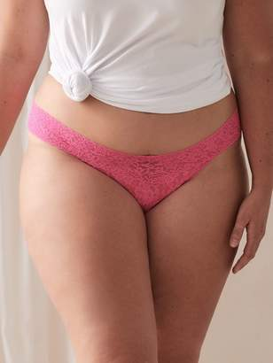Original Rise Thong with Lace - Hanky Panky