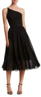 Dress the Population Eliza One-Shoulder Midi Dress