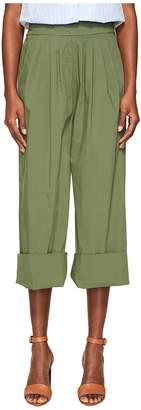 Sonia Rykiel Technical Poplin Pants Women's Casual Pants