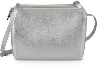 Oliver Bonas Kennedy Three Pocket Silver Cross Body Bag 09c61ebc75f6d