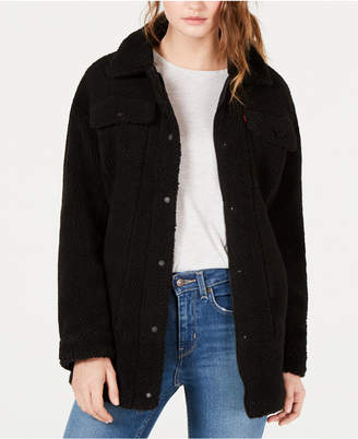 Levi's Oversized Sherpa Trucker Jacket