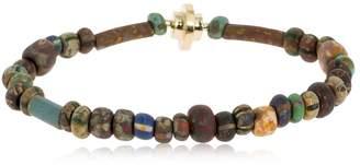 Luis Morais Vintage Beaded Bracelet