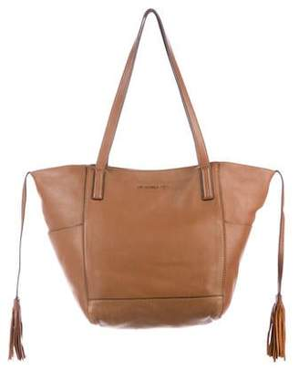 MICHAEL Michael Kors Tassel-Accented Leather Tote