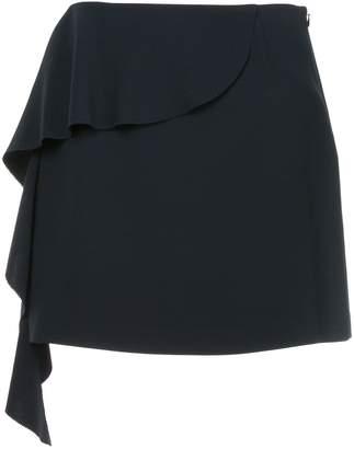 GOEN.J asymmetric ruffled mini skirt